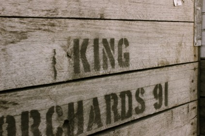 Wood Crates at King Orchard | www.thelandrovers.com