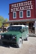 IMG_1929 The Land Rover in Polebridge, Montana Polebridge Mercantile & Bakery