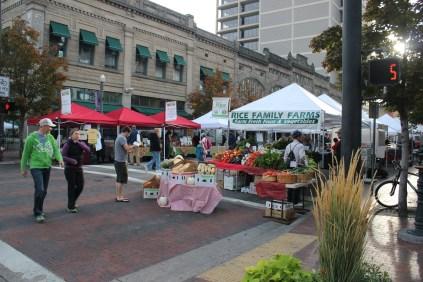 IMG_2178 farmer's market in Boise, ID