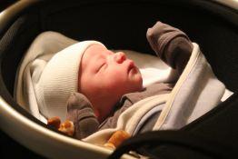 Baby Jackson #2_peanut bassinet_infant boy