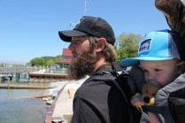 Kevin and Abraham Jackson father and son Deuter backpack kid carrierIMG_1458