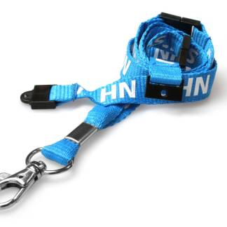 15mm NHS rPET Staff Lanyard with Triple Breakaway
