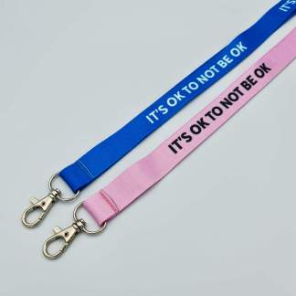 It's Okay to Not Be Okay 20mm Lanyard