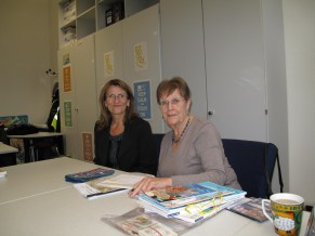 Prof. Martin with the author