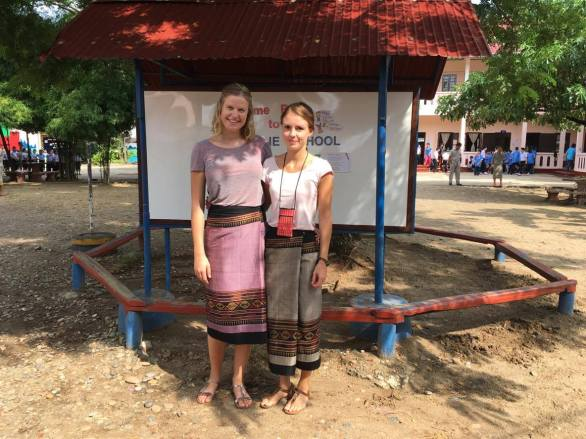 Juliana Kase & Julia Keßner (Sunshine School, Vientiane)