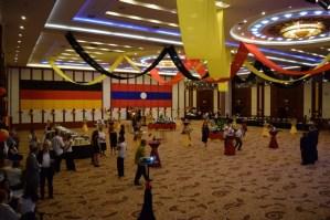 Reception at Don Chan Palace