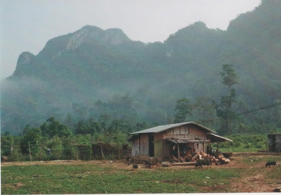 Countryside around Vang Vieng