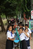 Daily tooth-brushing in the primary school Sikeud