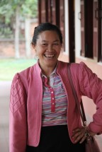 "Bouangeun ""Linda"" Hanthavong looks forward to the visit"