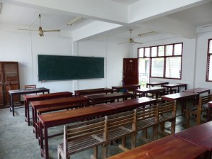 Elementary English classroom
