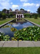 A park at Sandwich castel