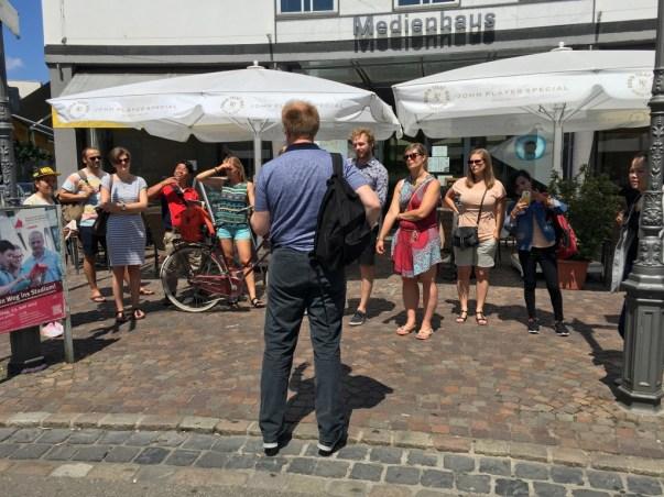 A city tour with Daniel Wensauer-Sieber