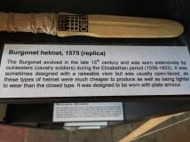 Burgonet helmet (1575)