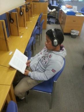 Me in the Self study Centre