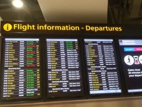 British Airways flight BA912 from London to Frankfurt