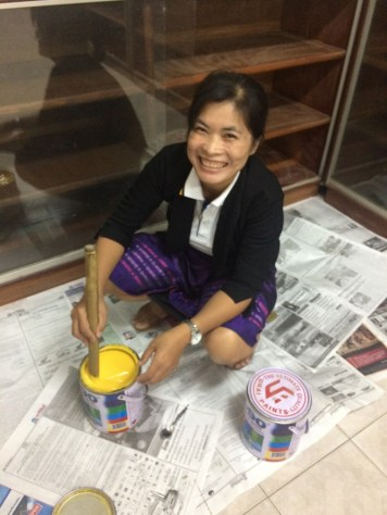 Ms Viengkhom in action