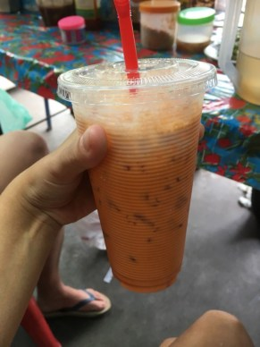 Cold Lao milk tea