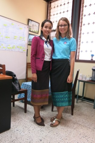 Patricia and her tandem-teacher Ms Akina