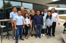 The Lao group and the new volunteers in Weiherhammer