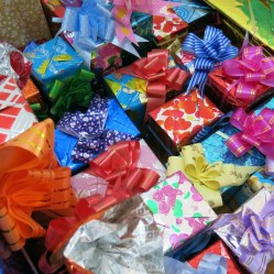 Presents for the teachers... and us volunteers!