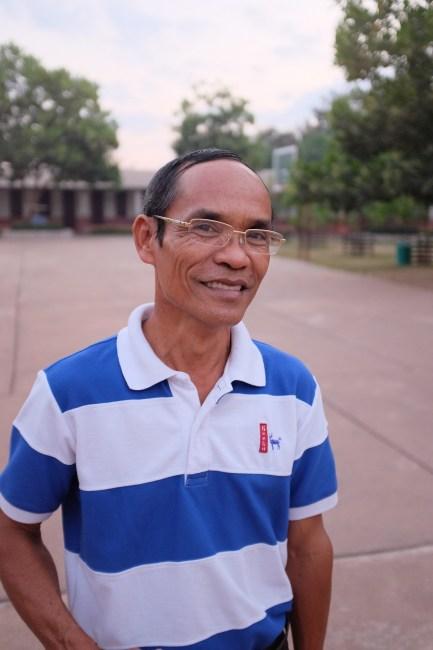 Mr Khamsing Nanthavongdouangsy