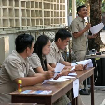 Teachers on Teachers' Day, LGTC, Vientiane