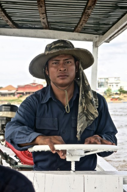 Boater, Don Det, Southern Laos