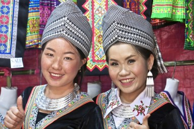 Traditional Hmong hats