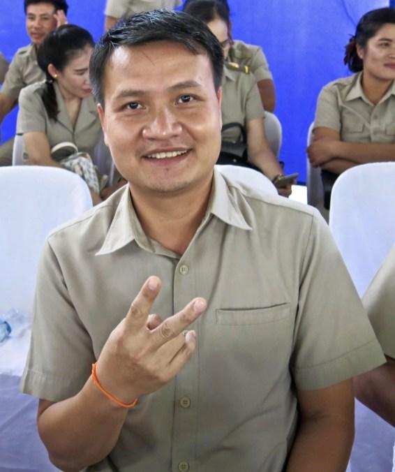English teacher, LGTC, Vientiane