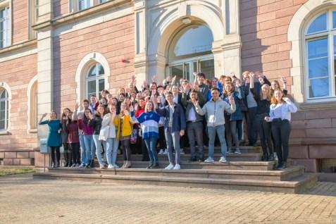 International students and their teachers (photographer: Tilman Binz, PH Karlsruhe)