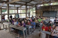 ...grades 1-5 in one classroom...