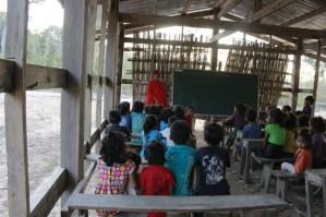 ... taught by novice Mr Keo Parkdee (graduate of Savannakhet University)