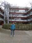 University of Education Karlsruhe, library building...