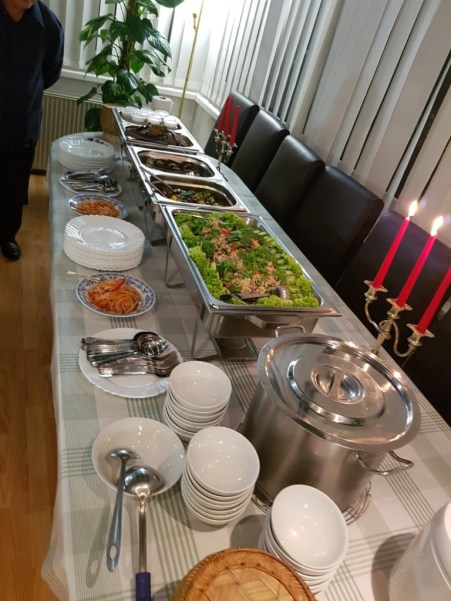 Lao food at the Embassy