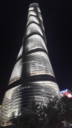 The 632m high Shanghai Tower