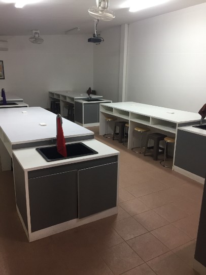 Science Lab at the Lower Secondary School in Ban Phang Heng