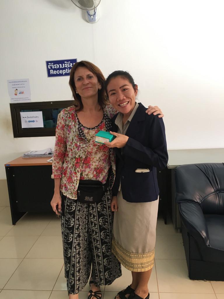 Prof. Dr. Isabel Martin and Phetsavanh Somsivilay