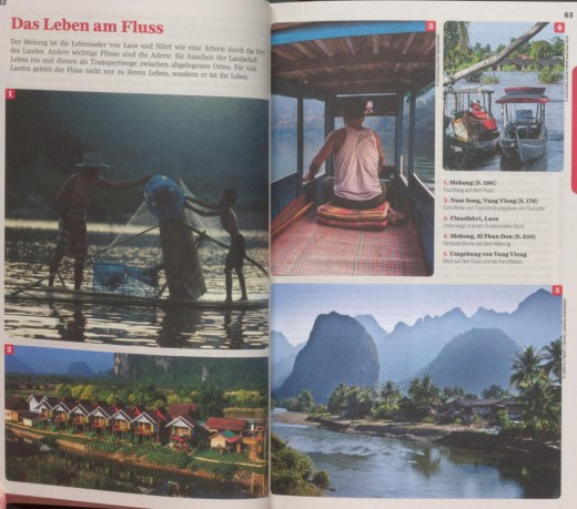 """Section about Lao lifestyle along the Mekong river - excerpt from """"Lonely Planet Laos"""", © 2007 MAIRDUMONT GmbH & Co. KG"""