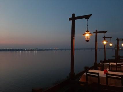 Dusk over the Mekong