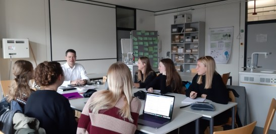 Job-shadowing on guiding Master students with Dr. Martin Remmele