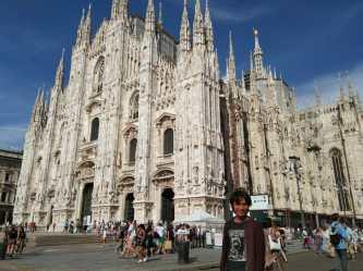 ... the Gothic Duomo di Milano...