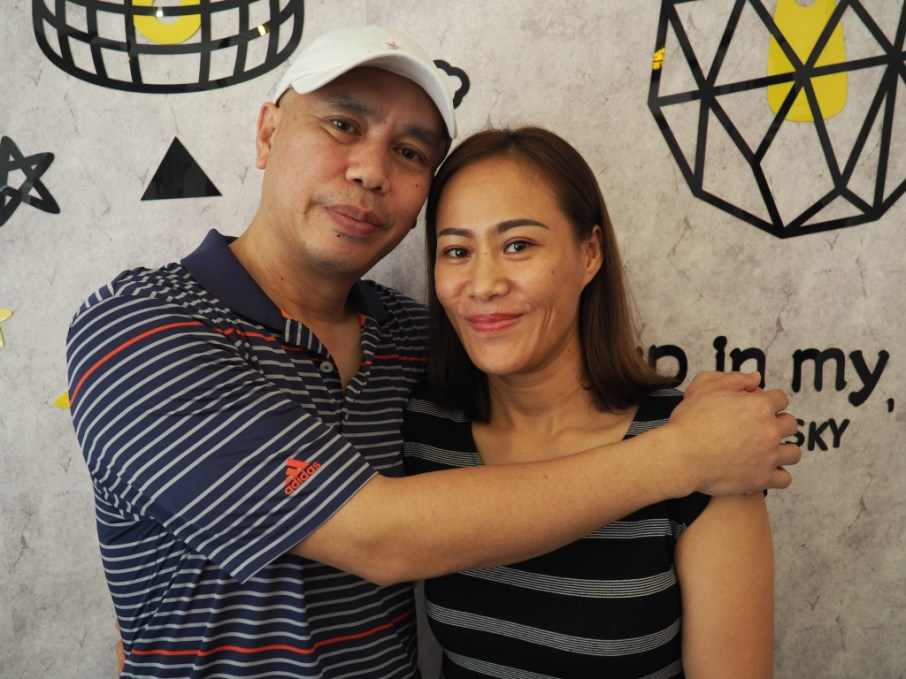 The lovely couple we got to interview: Taa and Dit Patthana