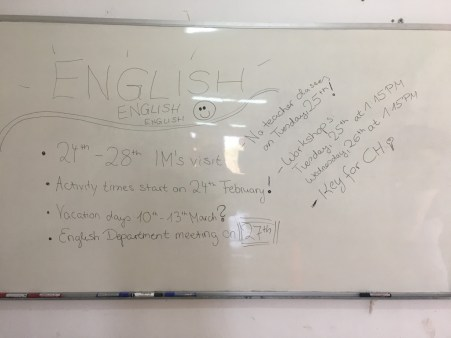 "... in the ""English Office"""
