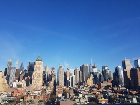 Skyline of New York by day