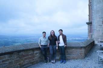 The beautifull view in Hohenzollen Castle