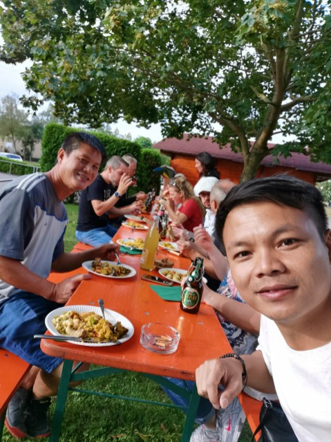... dinner with Pethanque Players Association