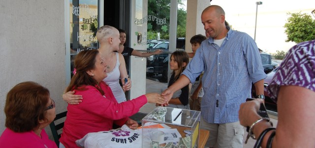 Caring for Kim: CCHS students help raise money for  classmate Kim Berkowitz's cancer treatment