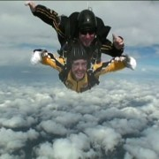 Principal Doll Skydives With The Golden Knights