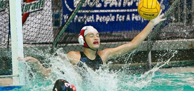 Emily Aron Walks On Water For The CCHS Water Polo Team