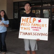 Key Club's Harvest Drive Collects Over 3000 Food Items For Needy Families